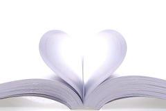 Abra páginas do livro Fotografia de Stock Royalty Free