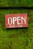 Abra para o negócio Imagem de Stock