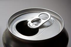 Abra a parte superior da lata de soda Fotos de Stock Royalty Free