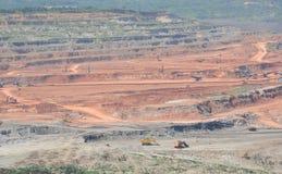 Abra Pit Mining Imagens de Stock