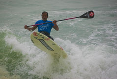 Abra a placa de pá do espírito do oceano de Santa Cruz Foto de Stock Royalty Free
