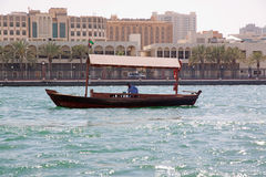 Abra - Dubai water taxi Royalty Free Stock Image