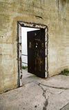 Abra a porta da prisão de Alcatraz Fotografia de Stock Royalty Free