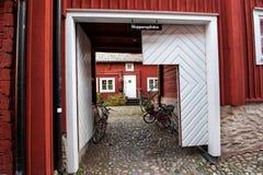 Abra a porta em Wadkoping idílico Imagem de Stock Royalty Free