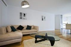Abra a sala de estar da planta Imagem de Stock