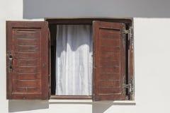 Abra una ventana Foto de archivo libre de regalías