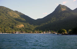Abraao beach ilha grande Stock Photography