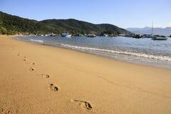 Abraao beach ilha grande Royalty Free Stock Image