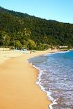 Abraao beach ilha grande rio de janeiro state brazil Royalty Free Stock Image