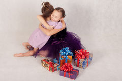 abrace Fotografía de archivo libre de regalías