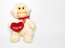 Abrace-me macaco fotografia de stock royalty free