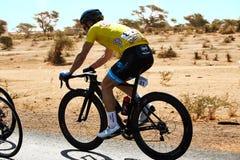 Abrace o ciclismo do mundo na excursão du Senegal 2017 Imagens de Stock Royalty Free