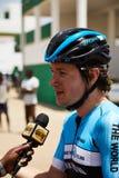 Abrace o ciclismo do mundo na excursão du Senegal 2017 Fotografia de Stock Royalty Free