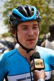 Abrace o ciclismo do mundo na excursão du Senegal 2017 Fotografia de Stock