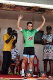 Abrace o ciclismo do mundo na excursão du Senegal 2017 Foto de Stock Royalty Free