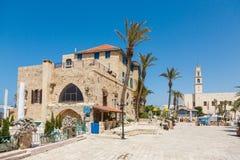 Abrage restaurant in  JAFFA, Tel Aviv Royalty Free Stock Images