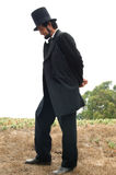 abraham живой lincoln Стоковые Изображения RF