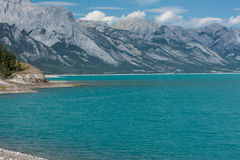 Abraham湖 库存图片