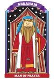 Abraham - carácter de la biblia stock de ilustración