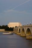 abraham dc Lincoln pomnik usa Washington obrazy stock