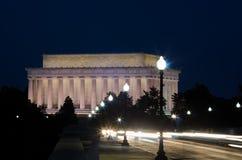 abraham dc Lincoln pomnik usa Washington fotografia royalty free