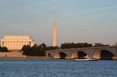 abraham dc Lincoln pomnik usa Washington zdjęcie royalty free