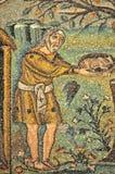 Abraham en God Royalty-vrije Stock Fotografie