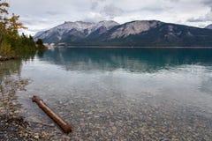 Abraham jeziora linia brzegowa Zdjęcia Stock