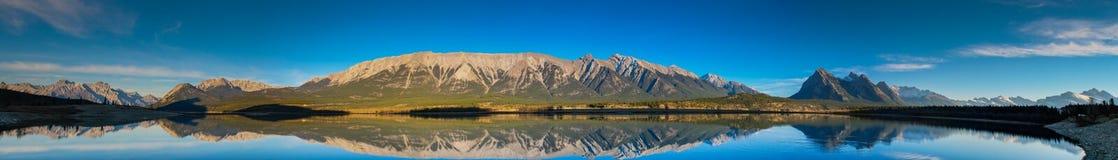 Abraham Lake Royaltyfri Bild