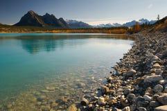 Abraham Lake Arkivbild