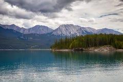 Abraham Lake Fotografía de archivo