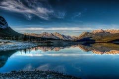 Abraham Lake Royalty Free Stock Image