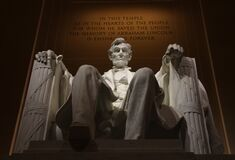 Abraham Lincolcn Statue Stock Photography