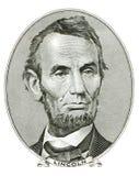Abraham Lincoln纵向 免版税库存图片