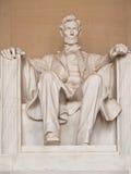 Abraham Lincoln雕象 免版税图库摄影
