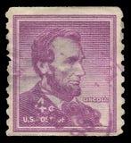 Abraham Lincoln Arkivfoto