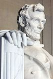 Abraham Lincoln. Memorial, a world famous landmark stock photography