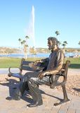 USA, AZ/Fountain Hills: Abraham Lincoln Statue. This statue of Abraham Lincoln, the 16th president of the United States, was created by Mark Lundeen; it adorns Royalty Free Stock Images