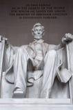 Abraham Lincoln Fotos de archivo libres de regalías
