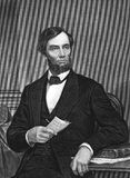 Abraham Lincoln Illustration Stock