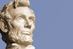 Abraham Lincoln. The sixteenth President of the United States stock image