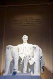 Abraham Lincoln 图库摄影