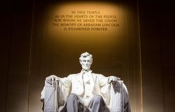 Abraham, Lincoln, Administration Royalty Free Stock Photo