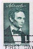 Abraham Lincoln barn Arkivfoton