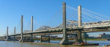 Abraham Lincoln Bridge I-65 Naar het noorden Stock Fotografie