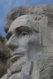 Abraham Lincoln en el montaje Rushmore Foto de archivo