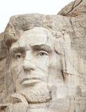 Abraham Lincoln en el montaje Rushmore imagen de archivo libre de regalías