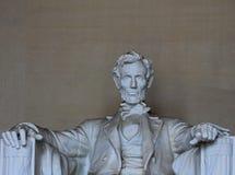 Abraham Lincoln - gedeeltelijke bovenkant Stock Foto