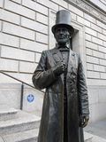 Abraham Lincoln, historische Gesellschaft New York, NYC, NY, USA Stockbilder