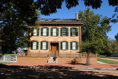 Abraham Lincoln House Royalty Free Stock Photography